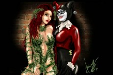 Harley and Poison Ivy
