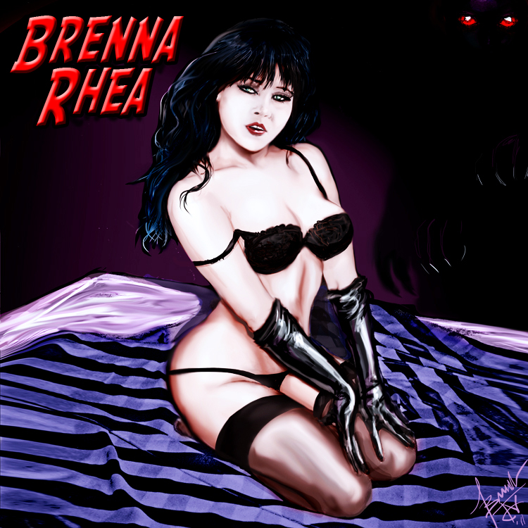 Brenna Pin-up site