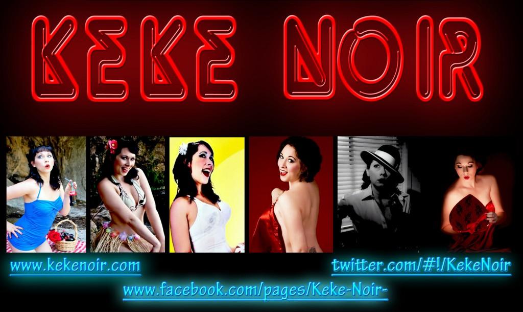 Keke Noir Name Banner 1