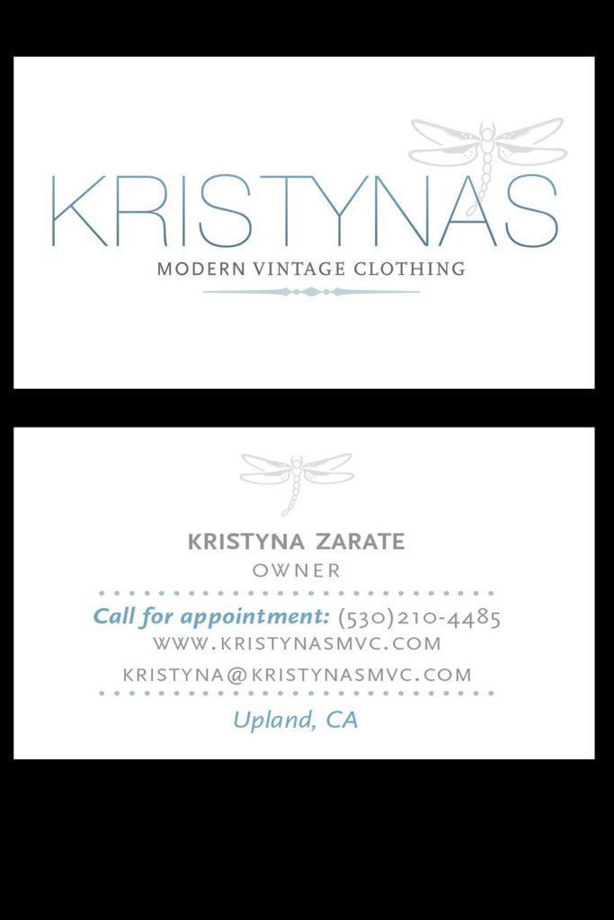 Kristyna Business Cards